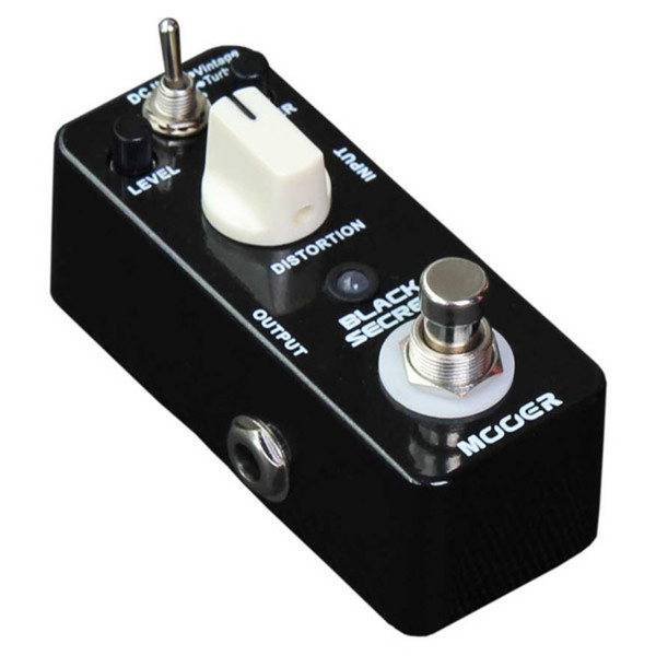 Mooer MDS1 Black Secret Distortion Pedal FREE Jack Patch Cables