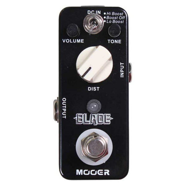 Mooer MMD1 Blade Metal Distortion Pedal FREE Jack Patch Cable