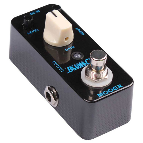 Mooer MBD1 Blues Crab Blues Drive Pedal FREE Jack Patch Cable