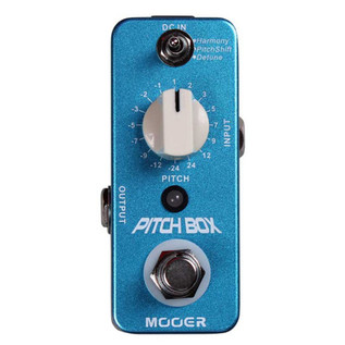 Mooer MPS1 Pitch Box Harmony Pitch-Shift Pedal FREE Jack Patch Cables
