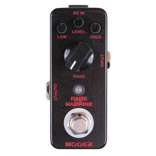 Mooer MDS5 Rage Machine Metal Distortion Pedal FREE Jack Patch Cables