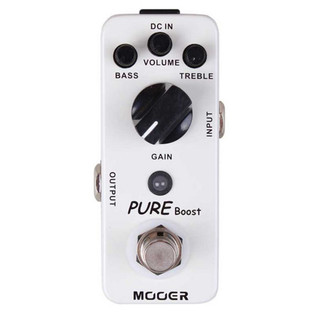 Mooer MBT2 Pure Boost Boost Pedal FREE Jack Patch Cable
