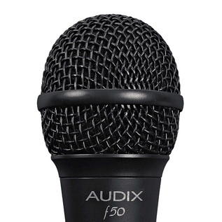 Audix F50 Dynamic Vocal Microphone, Low Impedance Detail