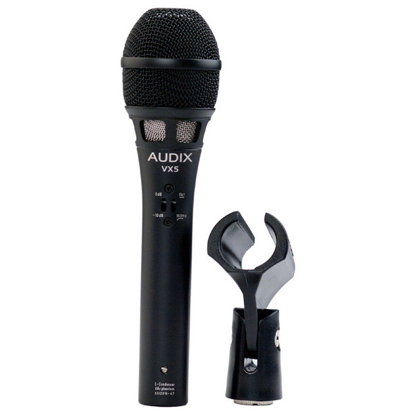 Audix VX5 Condenser Vocal Microphone with Clip