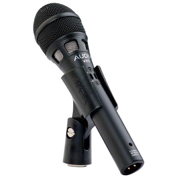 Audix VX5 Condenser Vocal Microphone in Clip