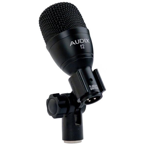 Audix F2 Dynamic Percussion Microphone in Clip