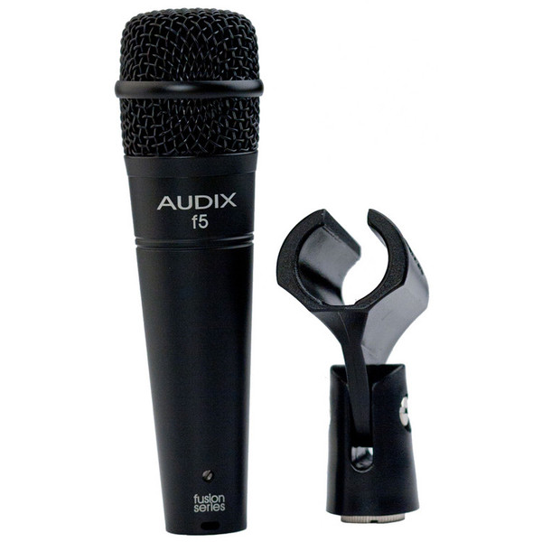 Audix F5 All-Purpose Dynamic Instrument Microphone with Clip