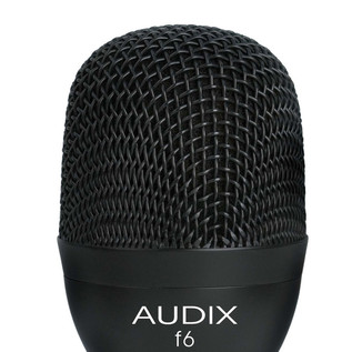 Audix F6 Kick Drum Dynamic Microphone Detail