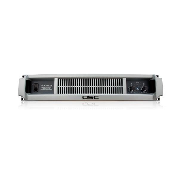 QSC PLX1802 Low-Z Power Amplifier - front