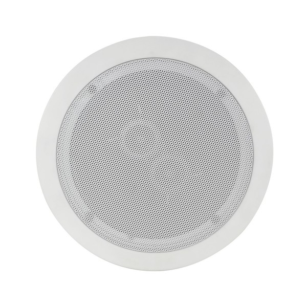 Adastra C6S 6.5'' Dual Voice Coil Ceiling Speaker with Dual Tweeters, Front