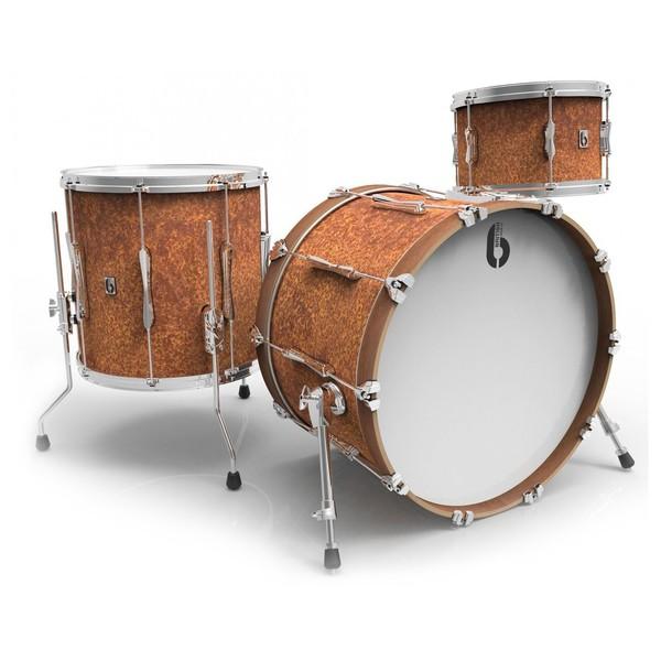 British Drum Co. 22'' 3pc Lounge Series Shell Pack, Iron Bridge - main image