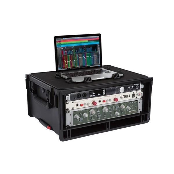 SKB Injection Moulded 4U Studio Flyer Rack Case 1SKB-iSF4U