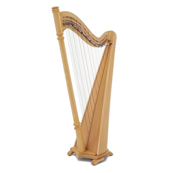 38 String Pillar Harp by Gear4music, Natural main