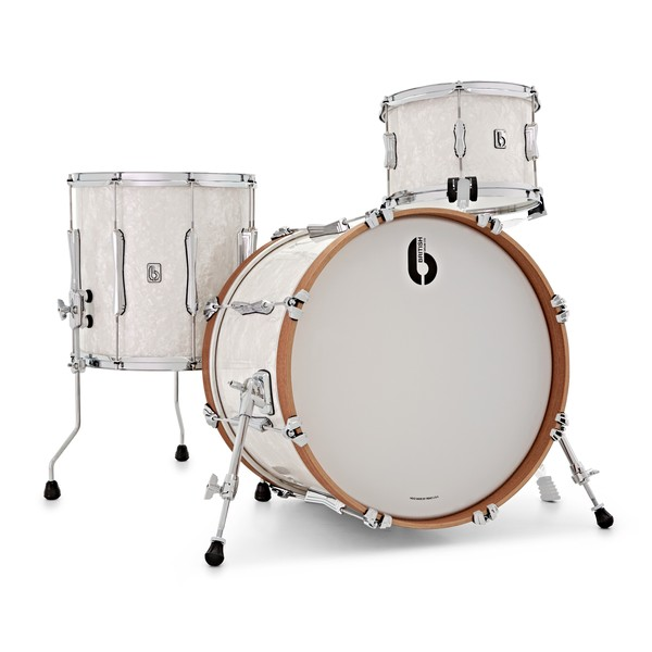 British Drum Co. Lounge Series 20'' 3pc Shell Pack, Windermere Pearl main