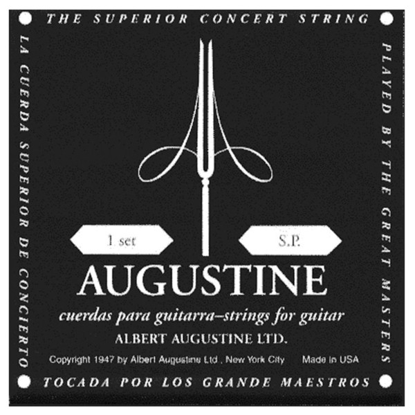 Augustine Concert Black Low Tension