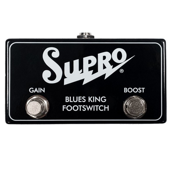Supro SF4 Blues King Dual Footswitch & Cable - Front