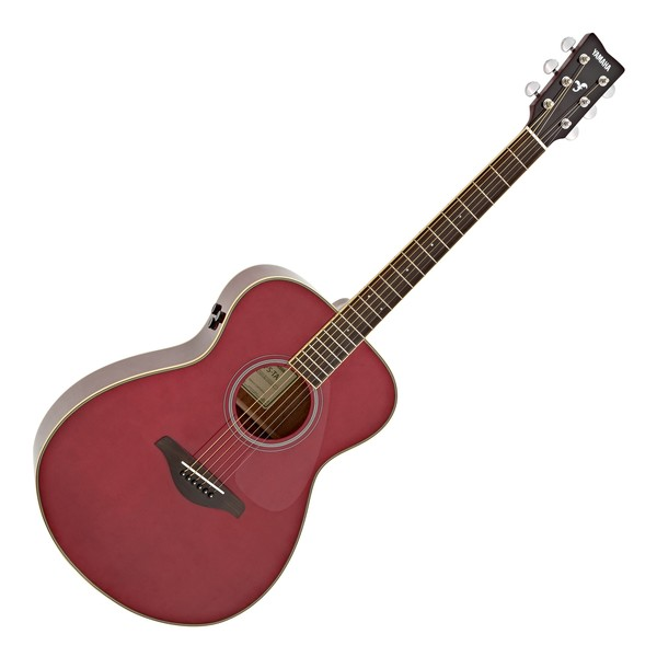 Yamaha FS-TA TransAcoustic, Ruby Red main