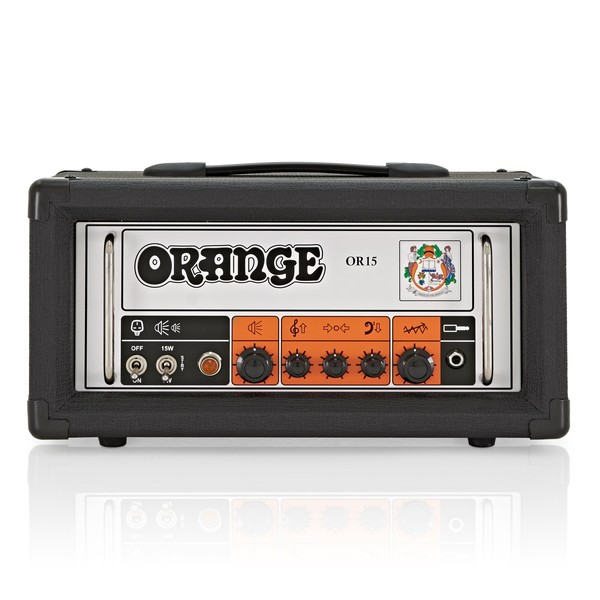 Orange OR15 Head, Black