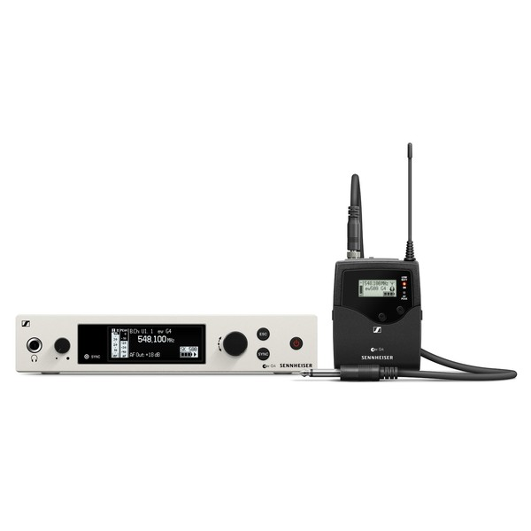 Sennheiser EW 500 G4 Wireless Instrument System with Ci1, Ch38 - Full