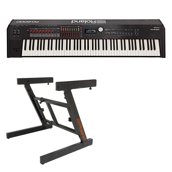 Roland RD-2000 Digital Stage Piano with Z-Frame Stand