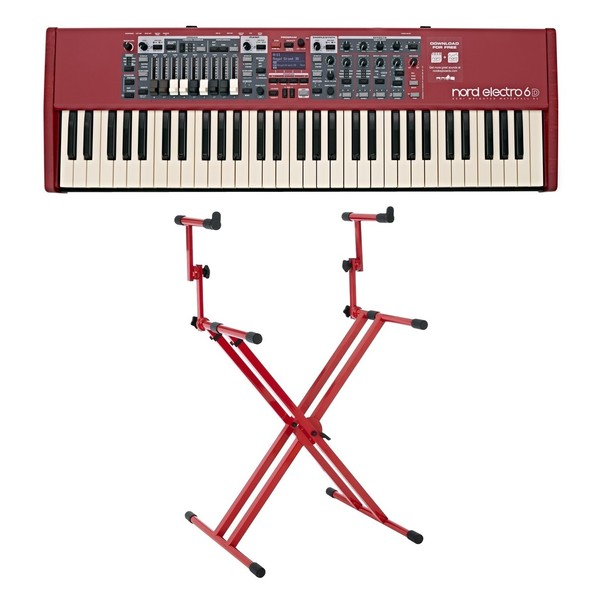 Nord Electro 6D 61-Note Keyboard with Deluxe Stand - Full Bundle