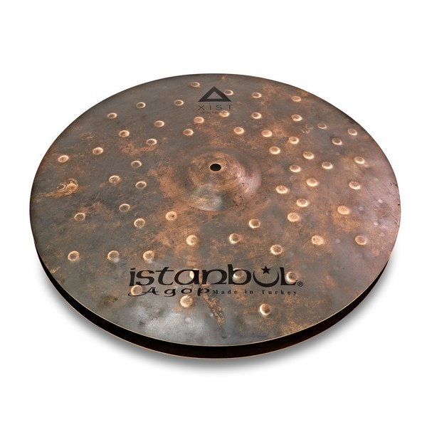 "Istanbul Agop Xist Dry Dark 17"" Hi Hat Cymbals main"