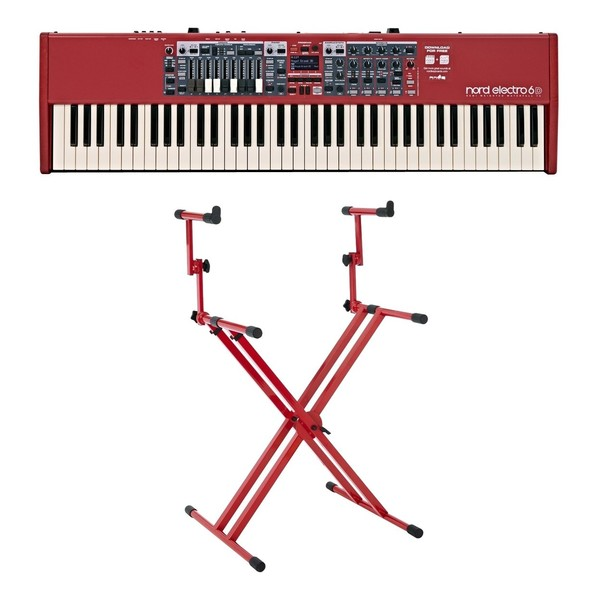 Nord Electro 6D 73-Note Keyboard with Deluxe Stand - Full Bundle