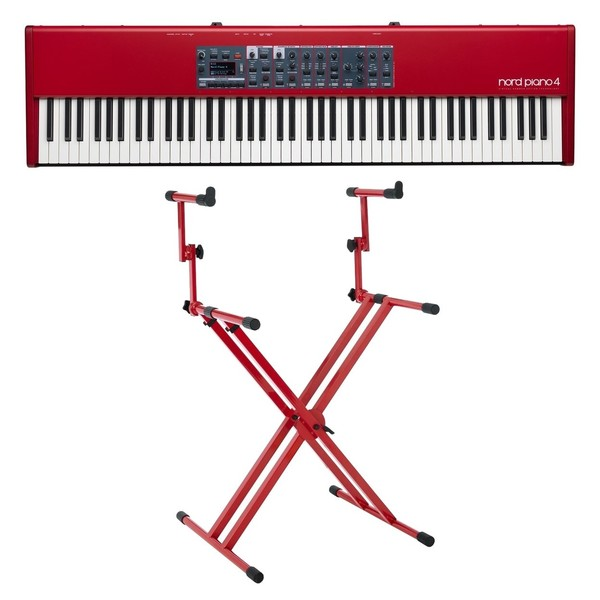 Nord Piano 4 88-Key Stage Piano with Deluxe Stand - Full Bundle