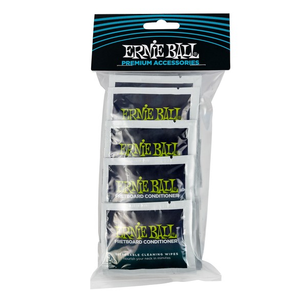Ernie Ball Wonder Wipe Fret Conditioner Refill, 20 Pack