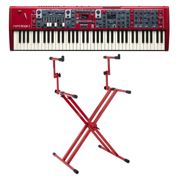 Nord Stage 3 Compact Digital Piano with Deluxe Stand - Full Bundle
