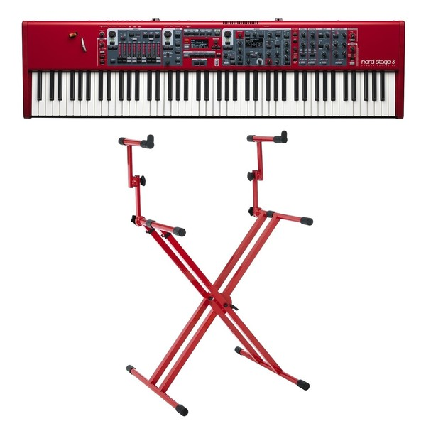 Nord Stage 3 88 Digital Piano with Deluxe Stand - Full Bundle