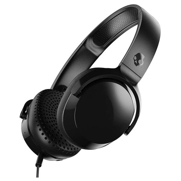 Skullcandy Riff On-Ear Headphones, Black - Angled