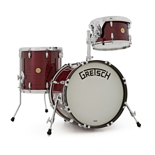 Gretsch USA Broadkaster 18'' 3pc Shell Pack, Ruby Red Pearl