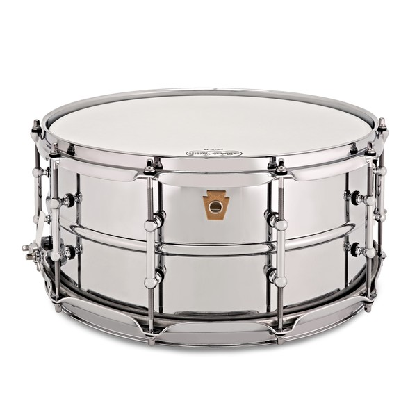 "Ludwig LM402T 14"" x 6.5"" Supraphonic Snare Drum, Tube Lugs main"