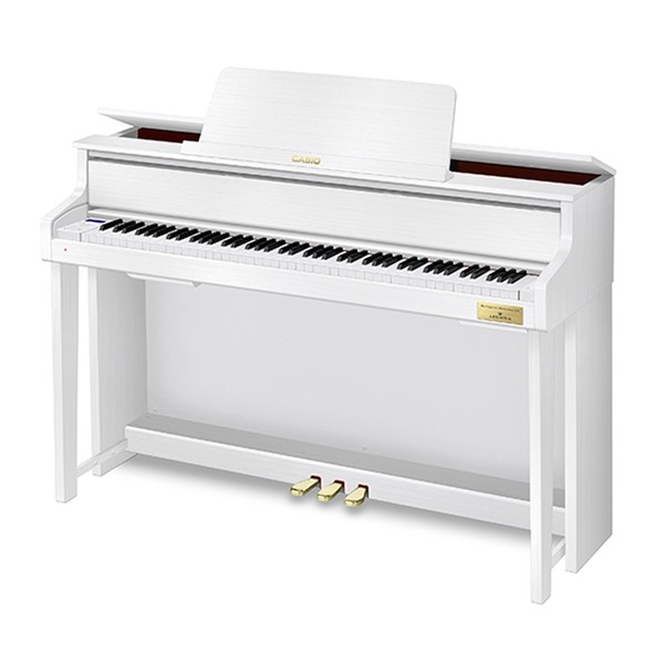 Casio GP310 Grand Hybrid Digital Piano, Satin White