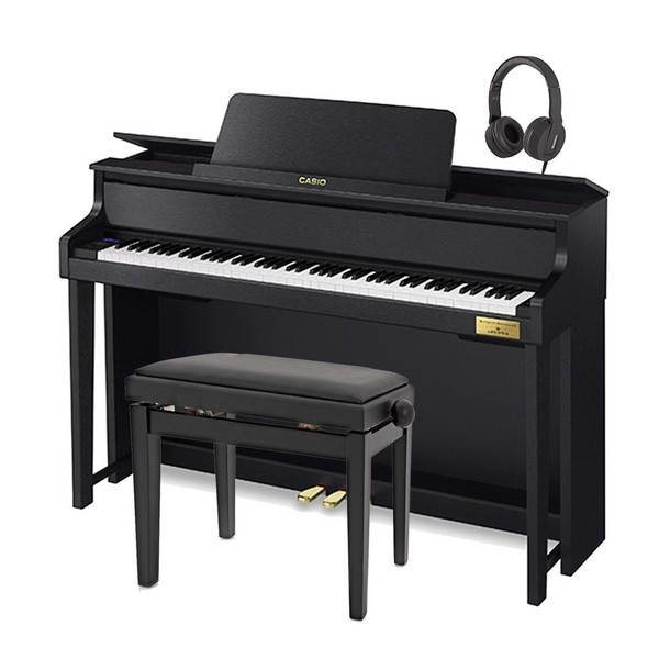 Casio GP310 Grand Hybrid Digital Piano, Satin Black Package