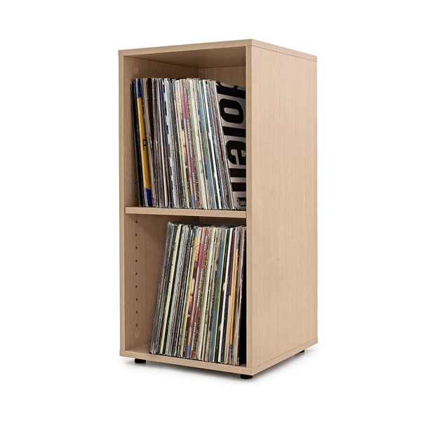 LP Cabinet by Gear4music, Natural