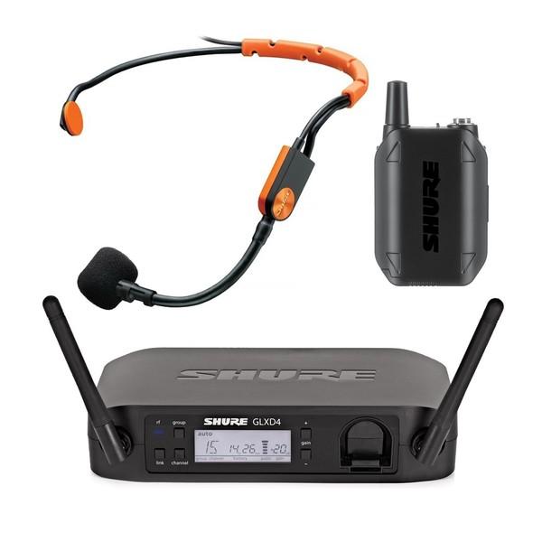 Shure GLXD14/SM31 Digital Wireless Headset