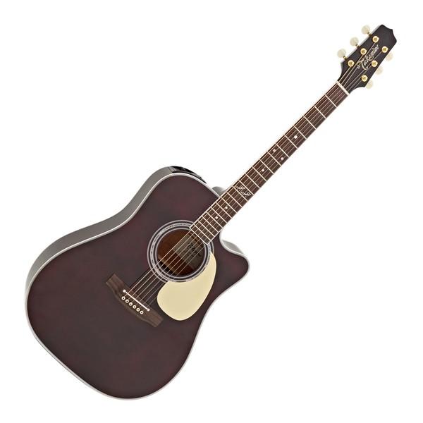Takamine JJ325SRC John Jorgenson Electro Acoustic, Red Gloss Satin