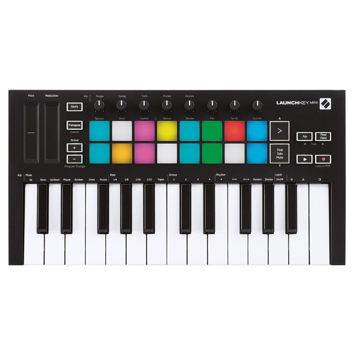 Shop Now | Novation Launchkey Mini MK3 MIDI Keyboard Controller