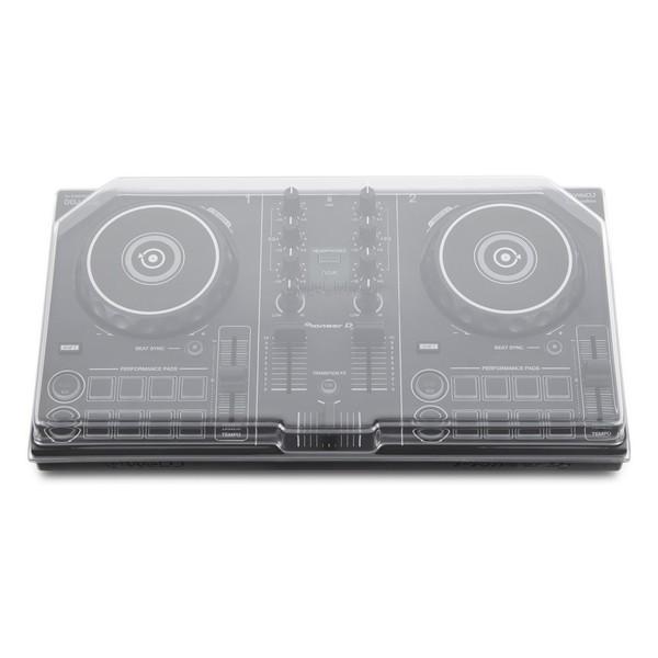 Pioneer DDJ-200 Smart DJ Controller with Decksaver Cover - Front