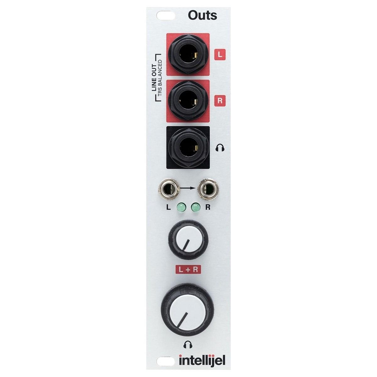 intellijel Outs, Balanced Stereo Line & Headphone Output Module (6HP)