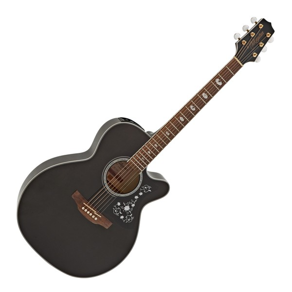 Takamine GN75CE Electro Acoustic, Trans Black