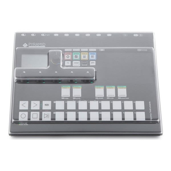 Squarp Instruments Pyramid MK2 Sequencer with Decksaver Cover - Bundle
