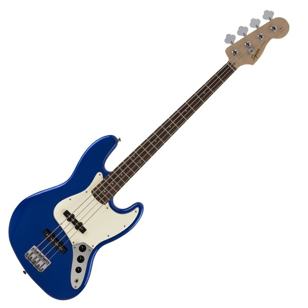 Squier FSR Affinity Jazz Bass, Imperial Blue - Front