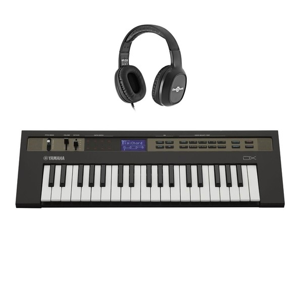 Yamaha reface DX Synthesizer with AKG K92 Headphones - Full Bundle