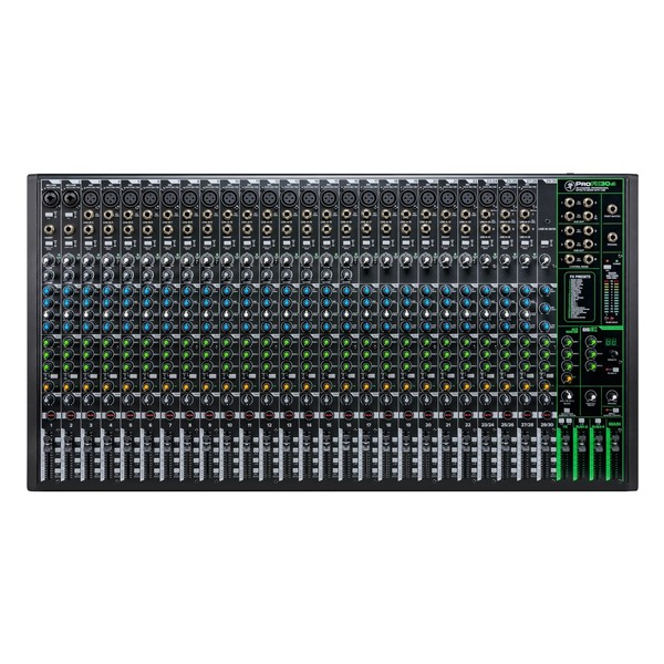 Mackie ProFX30v3 30-Channel Analog Mixer with USB, Top