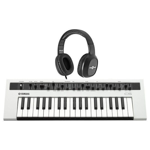Yamaha reface CS Synthesizer with Headphones