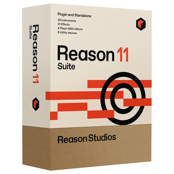 Propellerhead Reason 11 Suite - Box Art