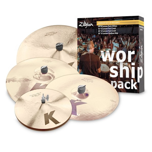 Zildjian K Custom Worship Pack Cymbal Set